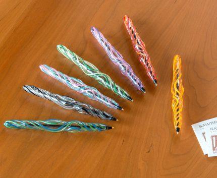 Glass Ribbon Pens