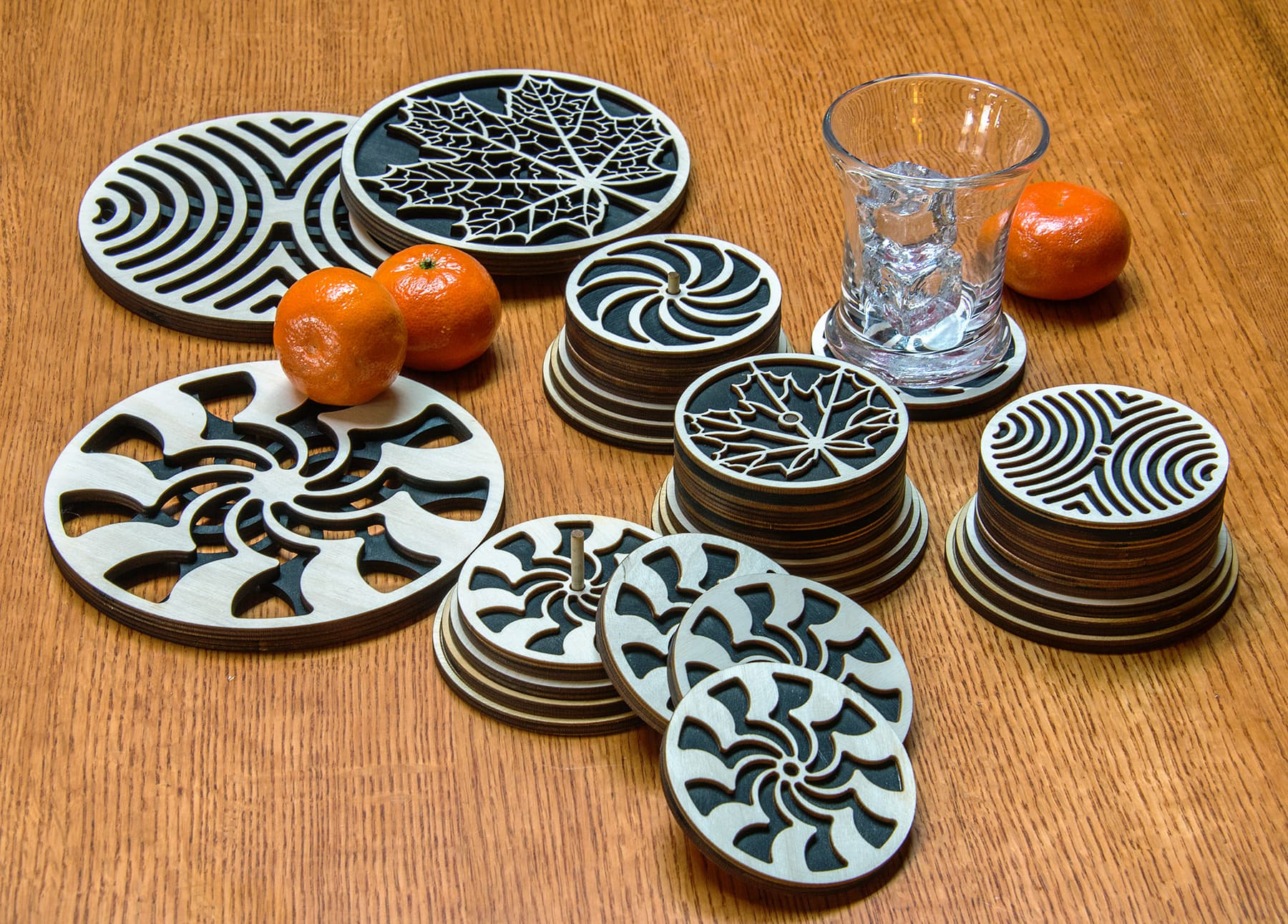 Balsa Coaster Sets