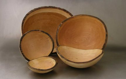 Oval Cherry Bowls
