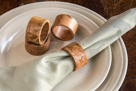 Natural Napkin Rings