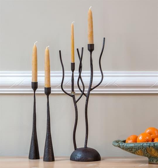 Iron Candlesticks