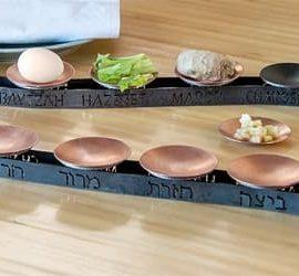 Curved Seder Plate