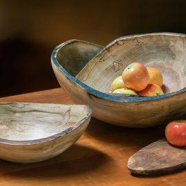 Live Edge Nesting Bowls
