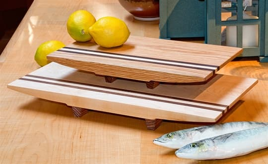 Inlaid Sushi Boards