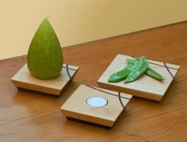 Zen Candle Plate