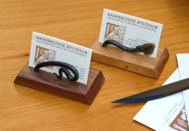 Ironwood Business Card Holder