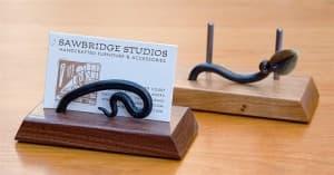 Ironwood Business Card Holder