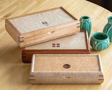 Small Inlaid Boxes