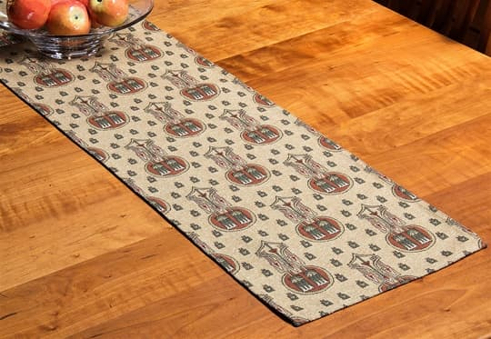 Lotus Spears Table Runner