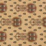 Lotus Spears Fabric
