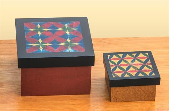 Quilt Pattern Boxes
