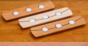Tealight Plank Wood Options