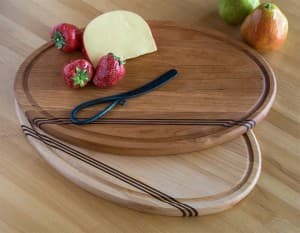 Cherry & Maple Cutting & Serving Boards