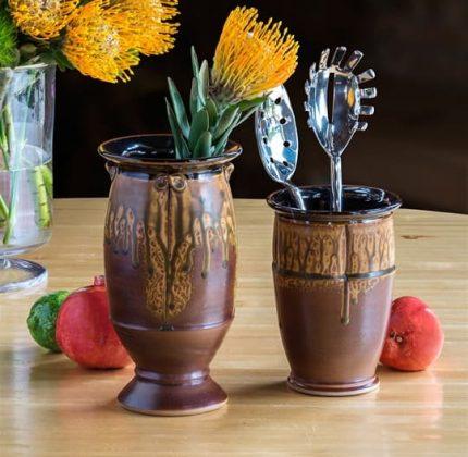 Yoder's Vessles (Vase and Utensil Holder)