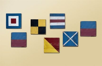 Navy Signal Flags, 'Welcome'