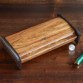 Small Accessory Box with Inlaid Abaolone