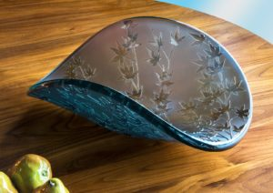 Silver Japanese Maple Bowl