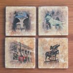 Chicago Bears Coaster Set