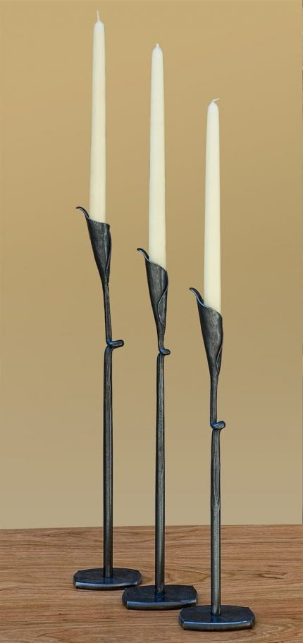 Calla Lilly Candlesticks