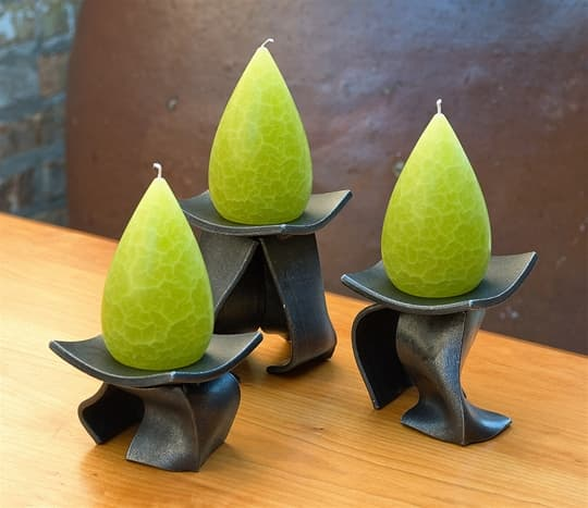 Dancing Candle Pedestals
