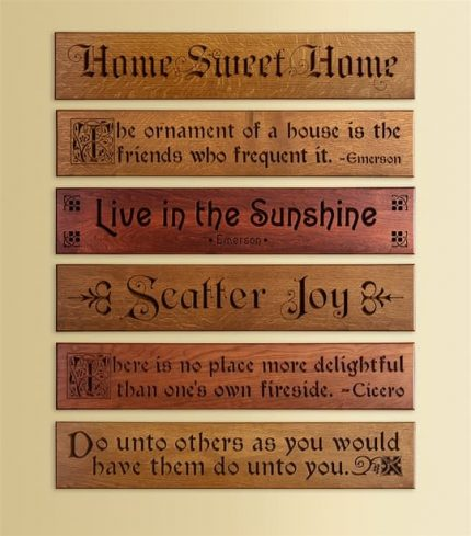 Inspiring Quotes for your Home