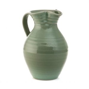 Celadon Belmont Crackle Pitcher