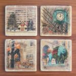 Christmas in Chicago Coasters