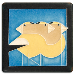 Gregarious Grosbeaks Blue