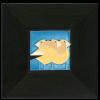 Gregarious Grosbeaks in Ebony Frame