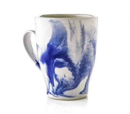 Marble Indigo Dinnerware Mug