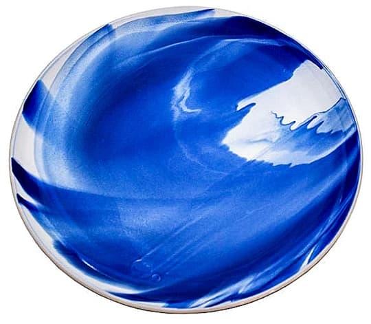 Marble Indigo Platter