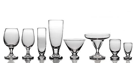 Mill Glassware Collection