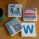 Chicago Cubs World Series Coaster Set