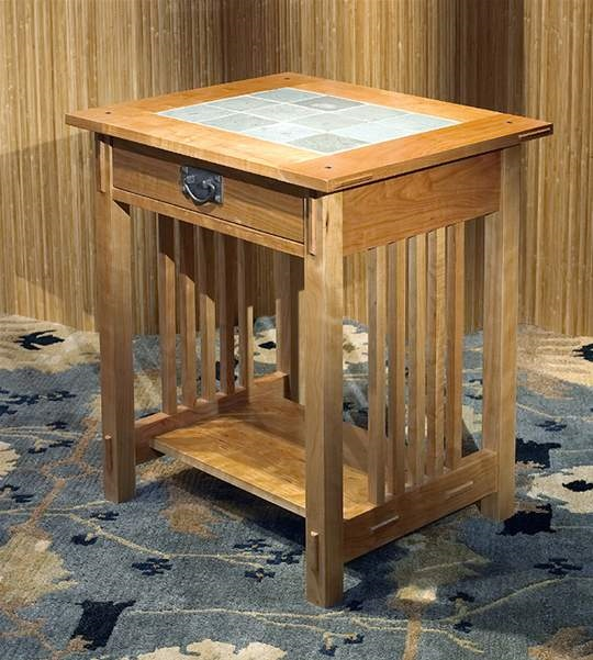 Bon Arts U0026 Crafts Side Table