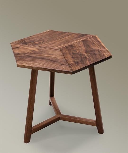 Rhombus Side Tables In Ash Floor Samples Sawbridge Studios