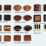Wood Cufflink Options