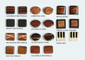 Wood Cufflink Options