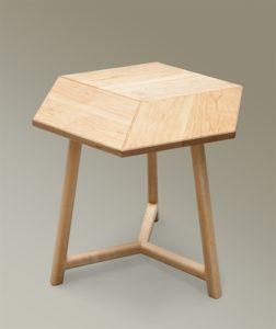 Maple Rhombus Side Table