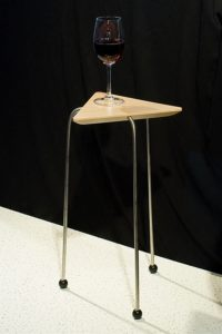 Triangular Stacking Side Tables Single Table