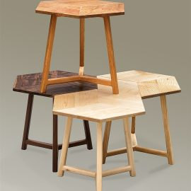 Rhombus Side Tables