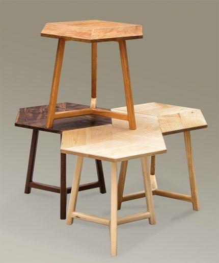 Rhombus Side Tables