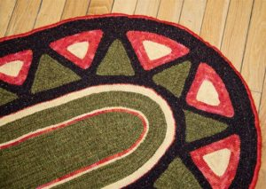 Star Burst Oval Throw detail