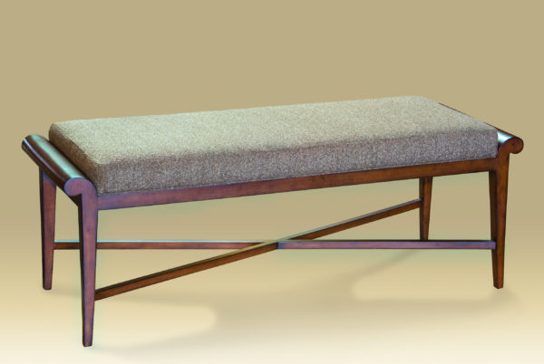 Carla Upholstered Long Bench