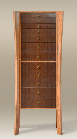 Twelve-Drawer Jewelry Armoire