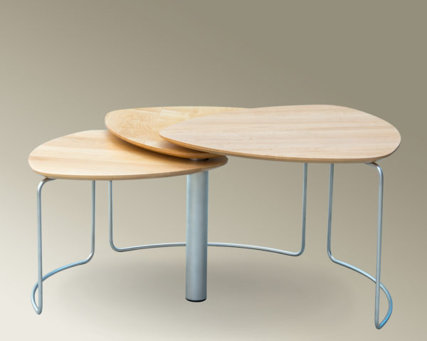 Three in One Bloom Nesting Table