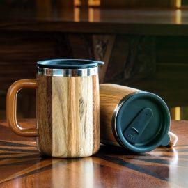 Wood Desk Mug