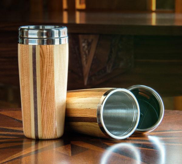 Wood Travel Tumbler