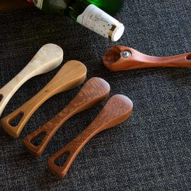Luxury Wood Bottle Openers