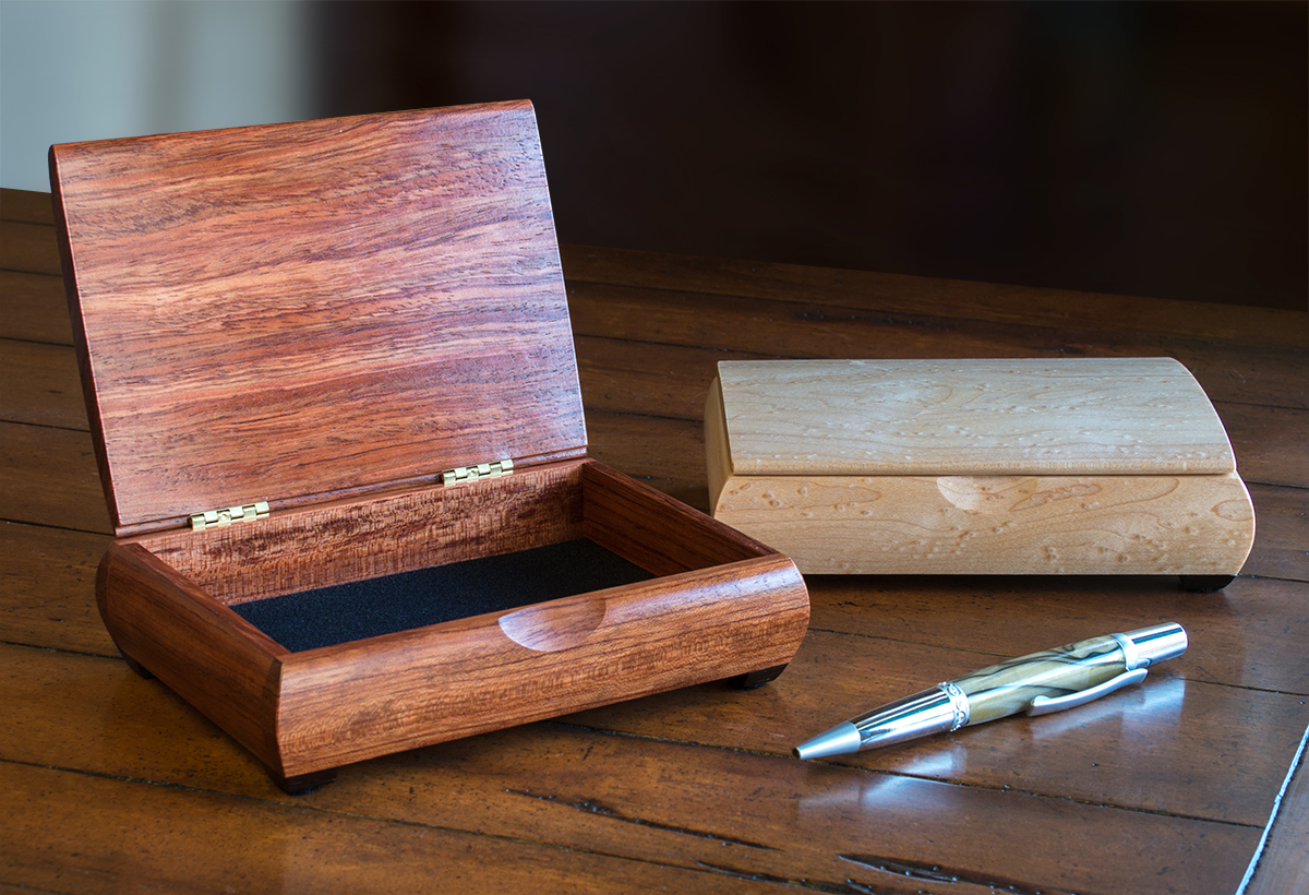 Wood Keepsake Boxes