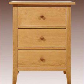 Three Drawer End Cabinet
